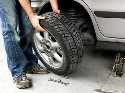 Roadside Assistance Tire Change Service