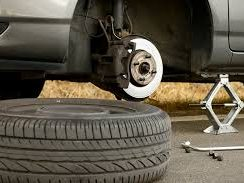 Flat Tire Change - Roadside Assistance